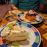 Key lime pie and guava bread pudding. Huge!