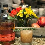 MAPLE BOUBON BANGER /  Bullet Bourbon, maple syrup, lemon juice