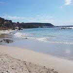 beach and natural swimming pool