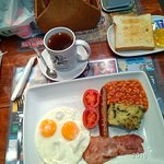 "The 'Full English Breakfast""."