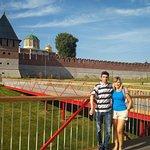 С сестрой возле Тульского кремля