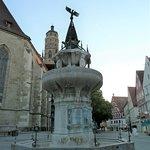 Kriegerbrunnen i Nördlingen