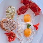 Breakfast egg menu