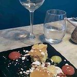 Orange and cardoman cake (dessert)