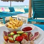 Lunch at DeckHouse An Bang Beach