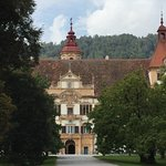 The Schloss from the front