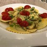 raviolis aux asperges sauce pistou