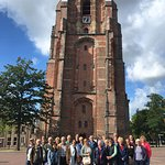 Groepsfoto free walking tour