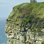 O'Brien's Tower at the Cliffs of Moher.