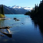 Garibaldi Lake from its Outlet