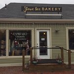 Great bakery and cafe off Rt. 108 in Stowe. Great coffee drinks and delish pastries. Loved their