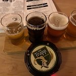 Great options in their Bierhall from pilsners to dunkels to more hoppy brews.