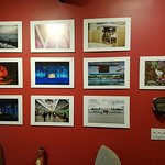 This wall of photos from a Guest Photographer