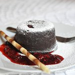 Chocolate cake (soufflé)