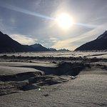 Meade Glacier in Oct. 2018