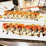 Wicked Awesome Tuna and Dragon roll.
