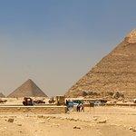 키오프스 피라미드의 사진
