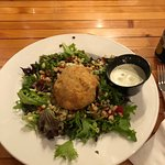 Crab Cake Salad. Two Thumbs WAY up!