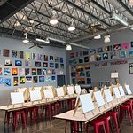 Our studio holds up to 40 painters!