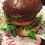 Dry veggie burger