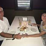 Celebrating our 42nd anniversary at Roy's Restaurant