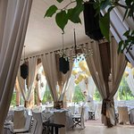 Foto di Restaurant of the swimming pool of the BELDI Country Club