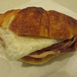 The Bacon, Egg, & Ham Croissant