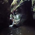 Canyoning meets parkour