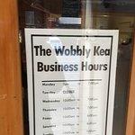 Wobbly Kea Cafe & Bar - hours