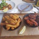 Buffalo Wings, Zucchini Fries