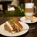 Carrot Cake and a Latte