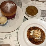 the souffle was divine