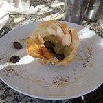Knafa - fruit parfait