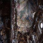 Inside the Asam Church, Munich