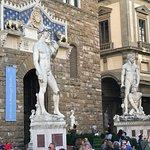 David Replica in front of Town hall Palazzo Vecchio