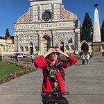 Francesca describing Santa Croce (4 Crosses)