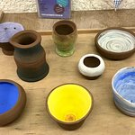 Pots made at Eastnor Pottery