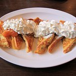 Country Host Restaurant - French Toast with Apples & Cinnamon - October 2018