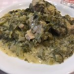 The pork in lemon sauce and the lamb, some of the best I've had in Athens, this is my 8th time t