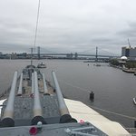 View from the Battleship New Jersey