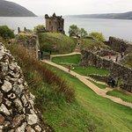 Sitting Above Loch Ness