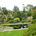 Visit the walled garden for a peaceful and attractive walk