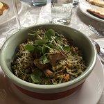 quinoa risotto like dish. Very good!