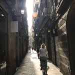 The charming back streets of Barcelona