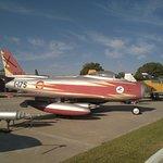 F-86 de la patrulla Ascua