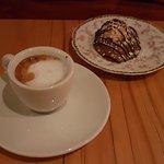Espresso Macchiato and Macaron