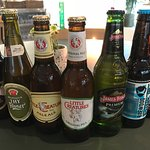 Our beer selection. Some local favourites with an international twist.