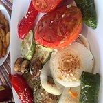 Grilled mixed veg