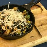 Honey Truffle Infused Brussel Sprouts