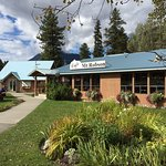 The Mount Robson cafe in mid September.